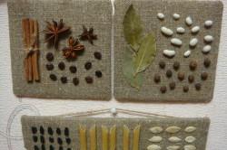Пример пано из подручных материалов