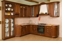 Смена фартука фасадов кухни