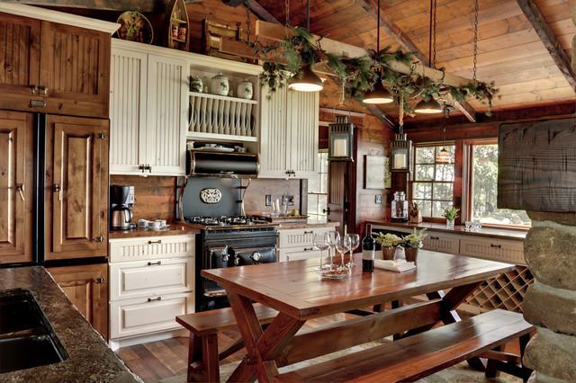 Оформление кухни в старом формате