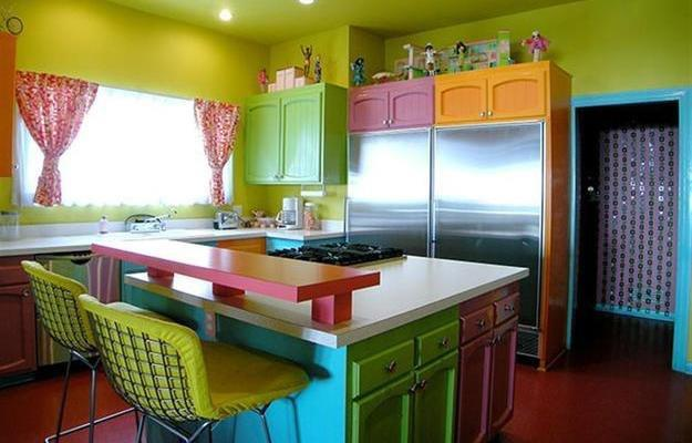 Раскраска кухни