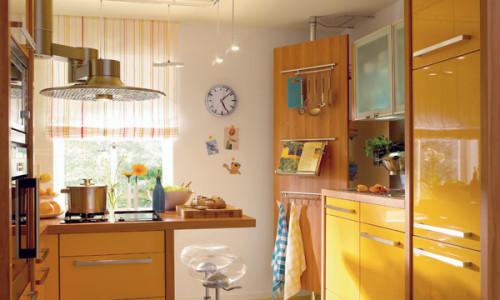 Маленькая современная кухня