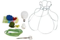 Инструменты и материалы для абажура