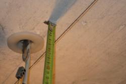 Измерение высоты стен и потолка