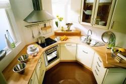 Обустройство кухни на балконе