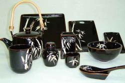 Посуда для кухни в восточном стиле