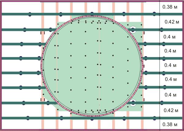 Схема каркаса потолка из гипсокартона кругом