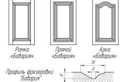 Варианты кухонных фасадов