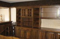 Состаренный кухонный гарнитур