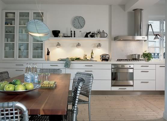 Удобная и красивая кухня
