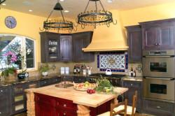 Мебель для кухни в средиземноморском стиле