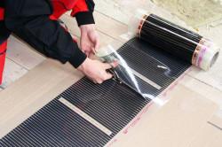Подготовка термической пленки к установке