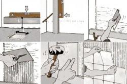 Схема поэтапной укладки плитки на стену