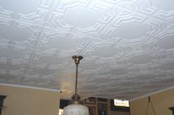 Отделка потолочными плитками