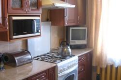 Пример размещения СВЧ печи на кухне