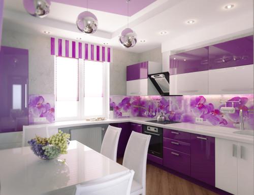 Гармоничный дизайн кухни