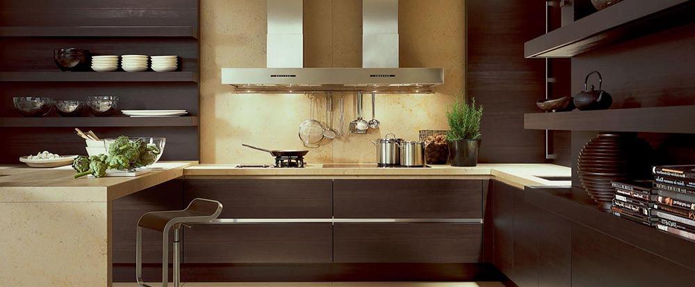 Современный и интересный дизайн кухни